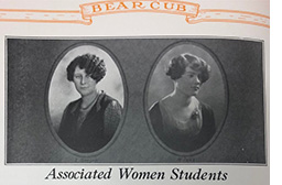Historic SRJC Associated Women Students photo